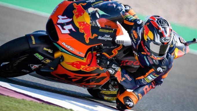 Moto2, GP Qatar 2020, Tetsuya Nagashima (Red Bull KTM Ajo)