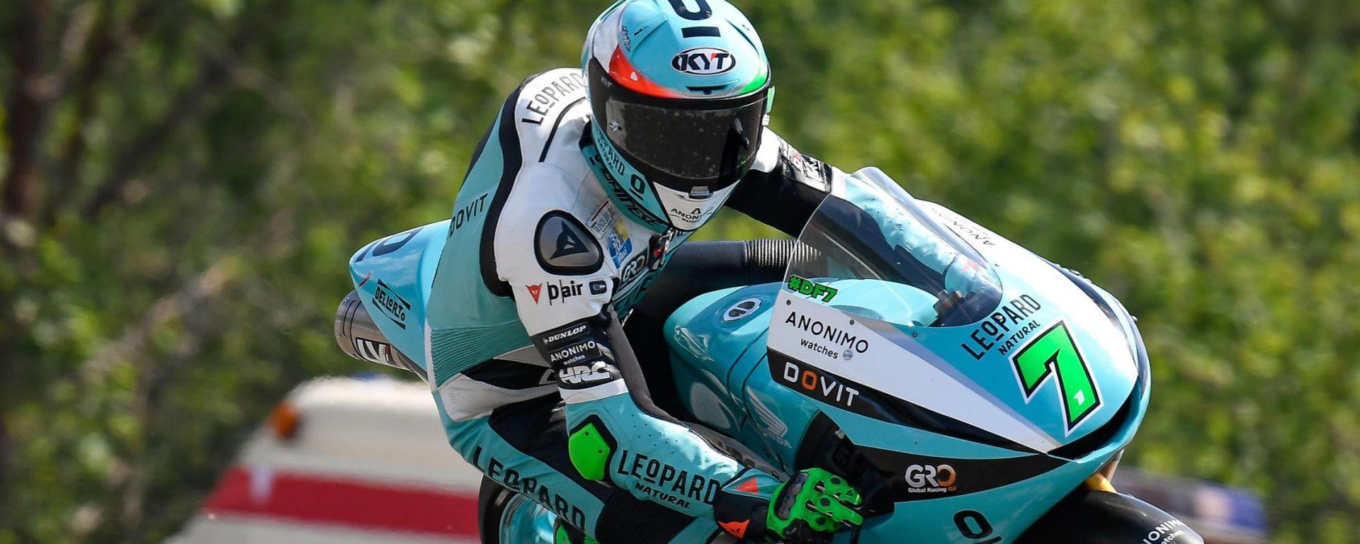 Moto2 Rep. Ceca 2020, Brno: Denis Foggia (Team Leopard Racing)