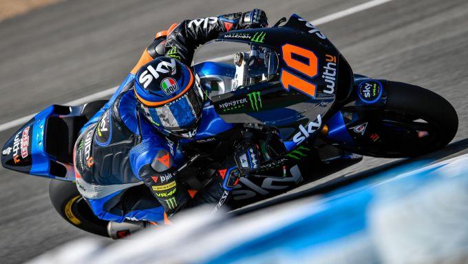 Moto2 Spagna 2020, Jerez: Luca Marini (Kalex)