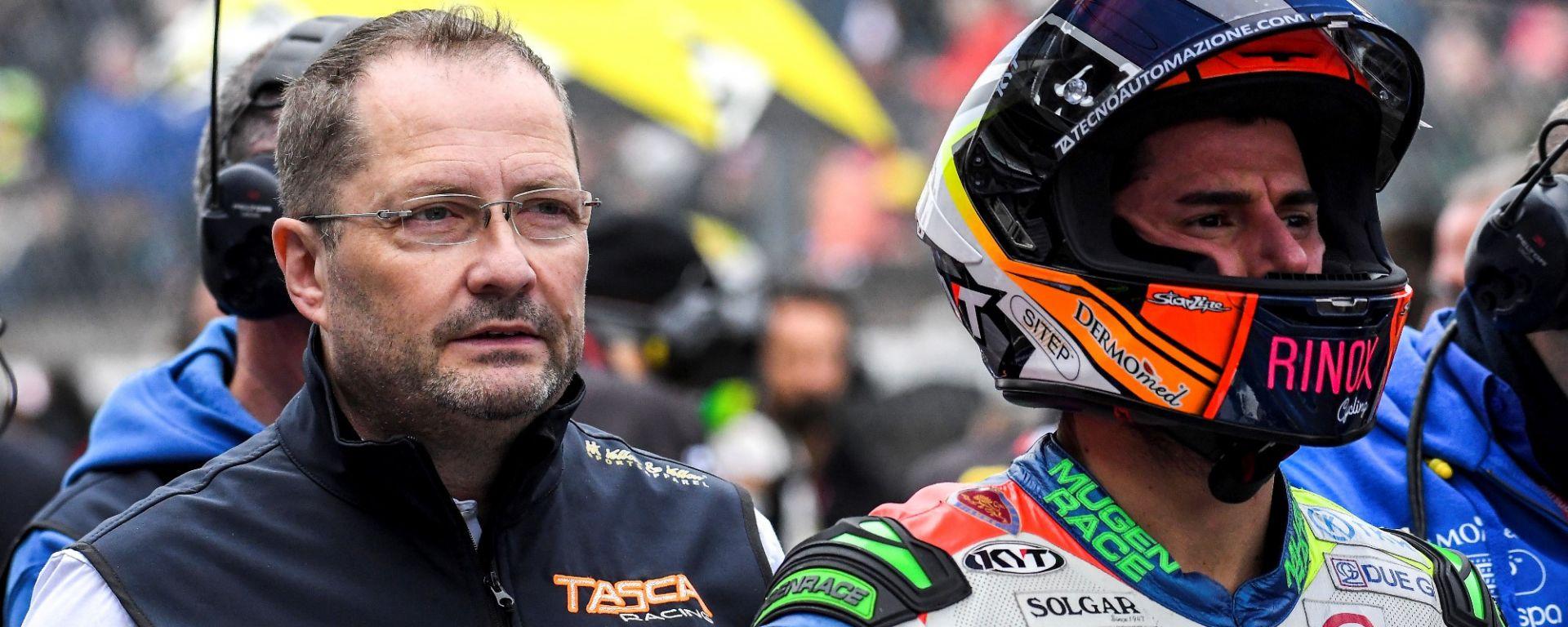Moto2, Tasca Racing, Enrico Tasca e Simone Corsi