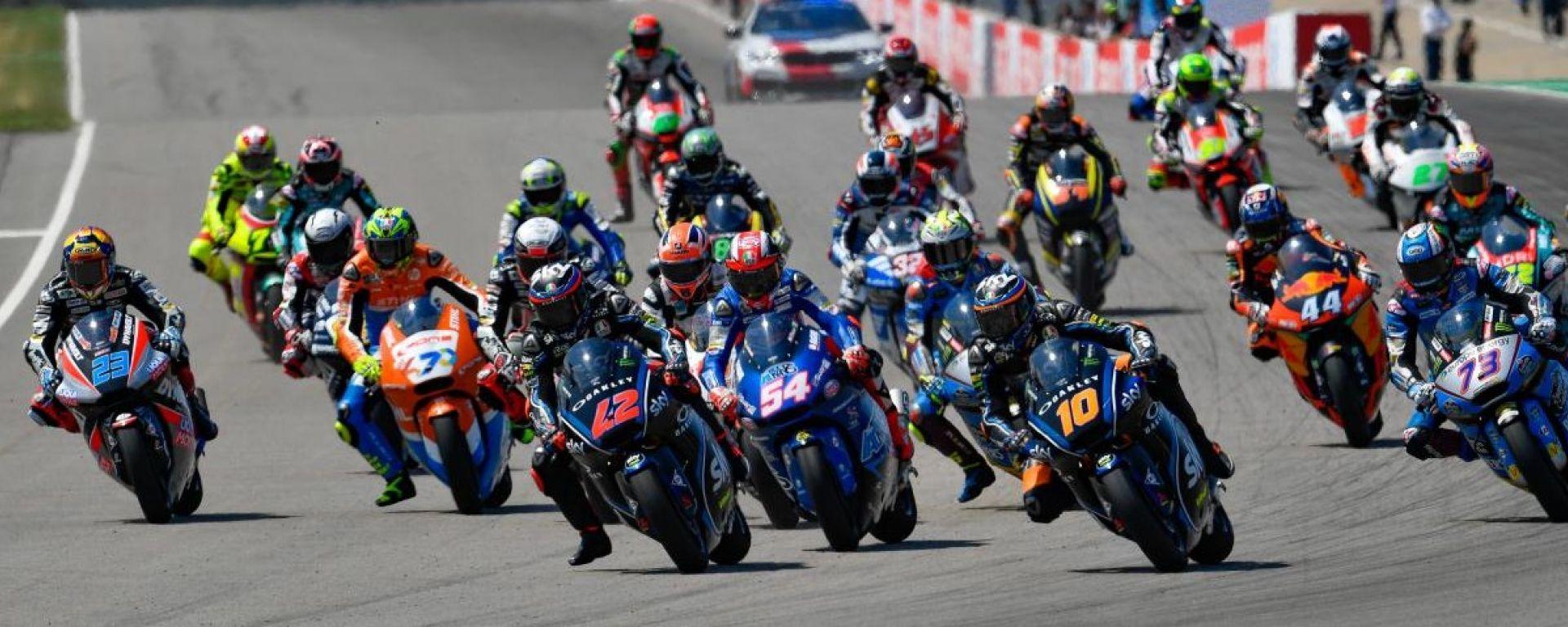 Moto2, tutti i piloti iscritti al mondiale 2019