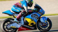 MOTO2 VALENCIA 2016 Franco Morbidelli in accelerazione