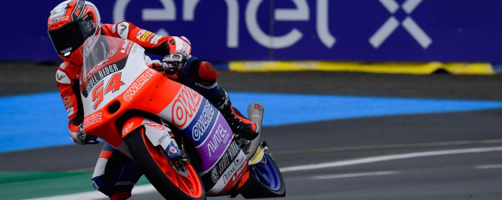 Moto3 Francia 2021, Le Mans: Riccardo Rossi (KTM)
