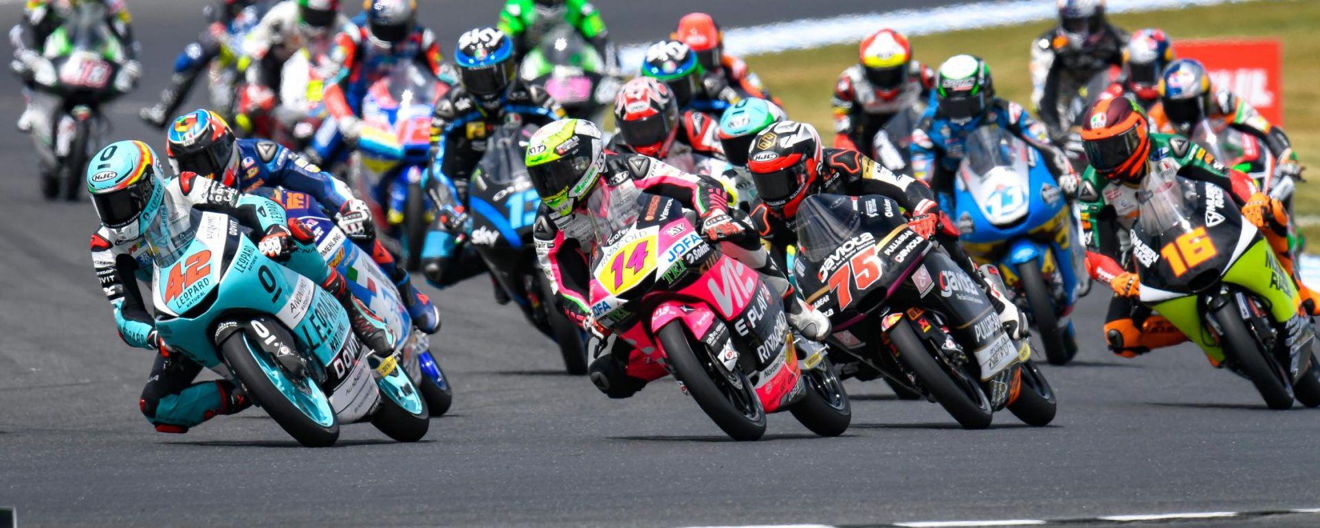 Moto3, GP Australia 2019, Phillip Island: la partenza