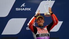 Rossi, podio a Le Mans e dedica a Gresini