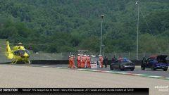 GP Italia: spaventoso incidente per Dupasquier al Mugello
