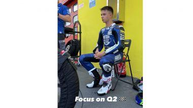 Moto3: l'ultima storia Instagram di Dupasquier