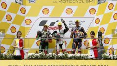 MOTO3 SEPANG 2016: Il podio