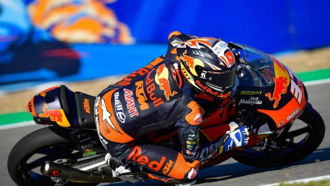 Moto3 Spagna 2021, Jerez: Pedro Acosta (Red Bull KTM Ajo)