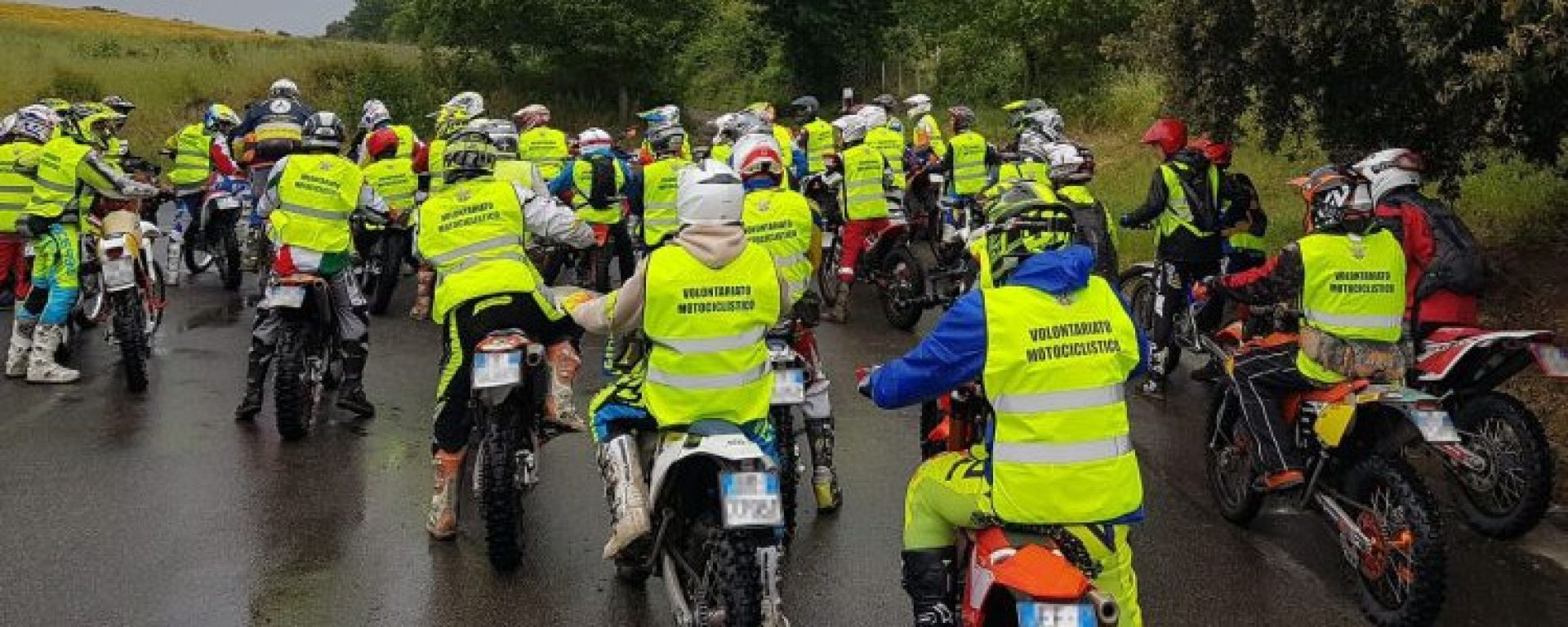 Motociclisti volontari FMI