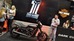 Motodays 2017, Giacomo Marzoli, responsabile Marketing di Harley-Davidson Italia, spiega la Street Rod