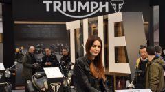 Motodays 2017, modella Triumph