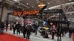 Motodays 2017, stand Harley-Davidson