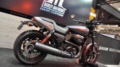 Motodays 2017, vista posteriore dell'Harley-Davidson Street Rod 2017