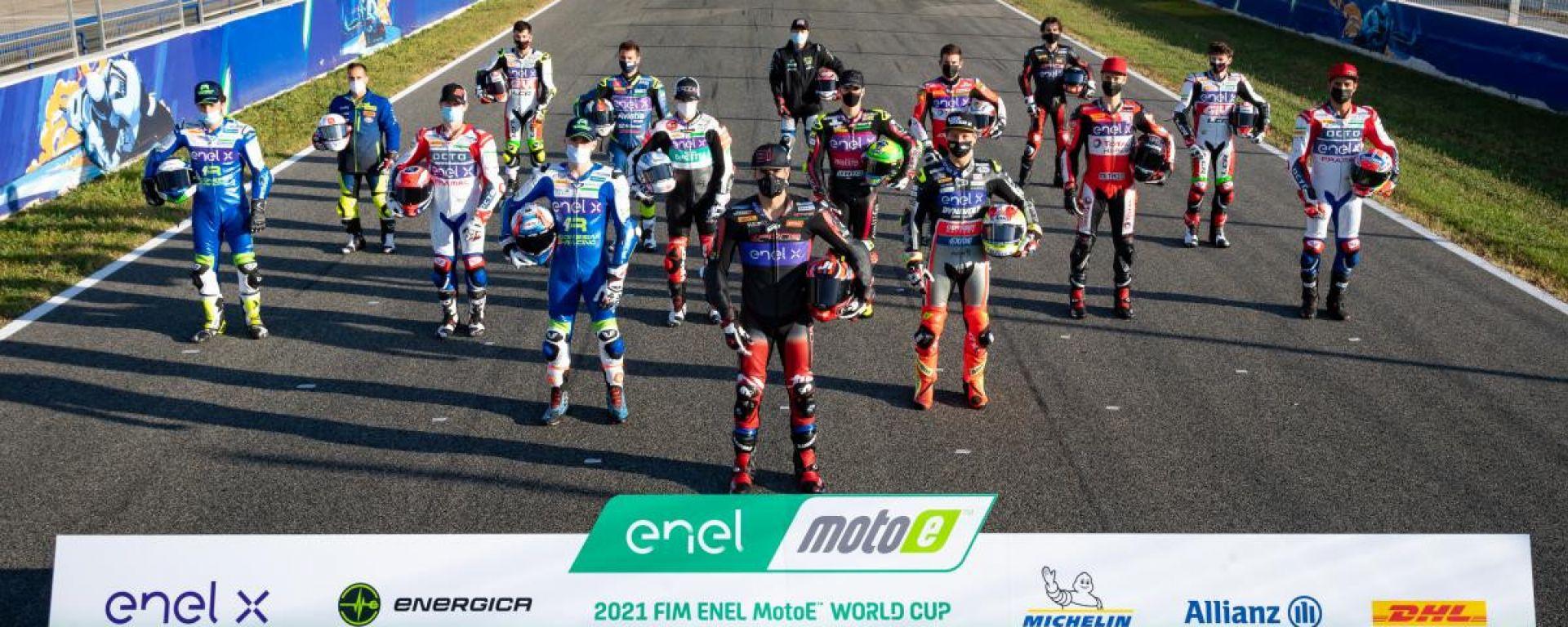 MotoE Spagna 2021, Jerez: tutti i piloti iscritti alla FIM MotoE World Cup 2021