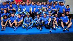 MOTOGP 2017: Andrea Iannone e Alex Rins hanno presentato la nuova Suzuki GSX-RR - Immagine: 1