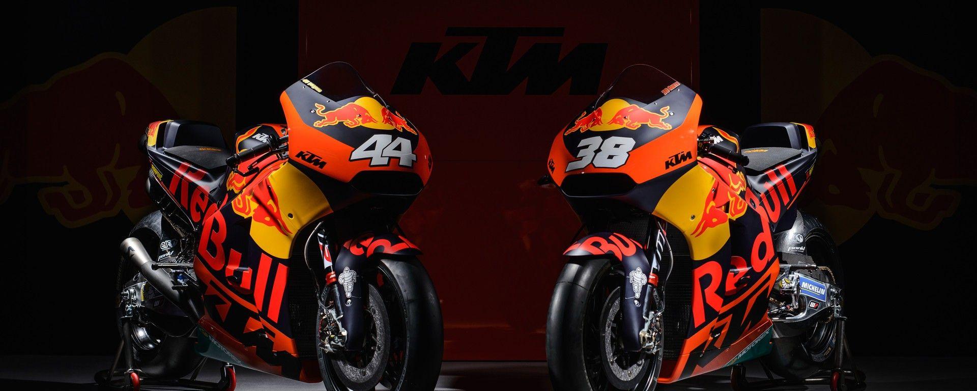 MOTOGP 2017: KTM presenta la line-up 2017 e svela la nuova RC16 di Pol Espargarò e Bradley Smith