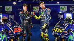 MotoGP 2017: Valentino Rossi e Maverick Vinales svelano le nuove Yamaha MotoGP 2017 - Immagine: 1