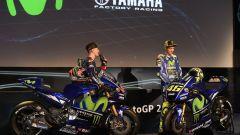 MotoGP 2017: Valentino Rossi e Maverick Vinales svelano le nuove Yamaha MotoGP 2017 - Immagine: 14