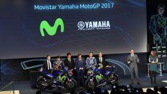 MotoGP 2017: Valentino Rossi e Maverick Vinales svelano le nuove Yamaha MotoGP 2017 - Immagine: 15