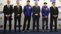 MotoGP 2017: Valentino Rossi e Maverick Vinales svelano le nuove Yamaha MotoGP 2017 - Immagine: 16