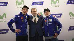 MotoGP 2017: Valentino Rossi e Maverick Vinales svelano le nuove Yamaha MotoGP 2017 - Immagine: 18