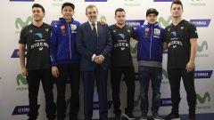 MotoGP 2017: Valentino Rossi e Maverick Vinales svelano le nuove Yamaha MotoGP 2017 - Immagine: 19