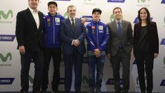 MotoGP 2017: Valentino Rossi e Maverick Vinales svelano le nuove Yamaha MotoGP 2017 - Immagine: 20