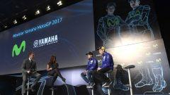 MotoGP 2017: Valentino Rossi e Maverick Vinales svelano le nuove Yamaha MotoGP 2017 - Immagine: 25