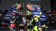 MotoGP 2017: Valentino Rossi e Maverick Vinales svelano le nuove Yamaha MotoGP 2017 - Immagine: 30