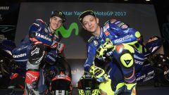 MotoGP 2017: Valentino Rossi e Maverick Vinales svelano le nuove Yamaha MotoGP 2017 - Immagine: 31