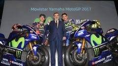 MotoGP 2017: Valentino Rossi e Maverick Vinales svelano le nuove Yamaha MotoGP 2017 - Immagine: 32