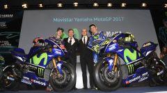 MotoGP 2017: Valentino Rossi e Maverick Vinales svelano le nuove Yamaha MotoGP 2017 - Immagine: 34