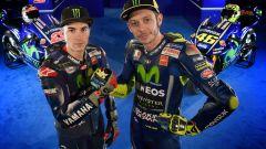 MotoGP 2017: Valentino Rossi e Maverick Vinales svelano le nuove Yamaha MotoGP 2017 - Immagine: 48