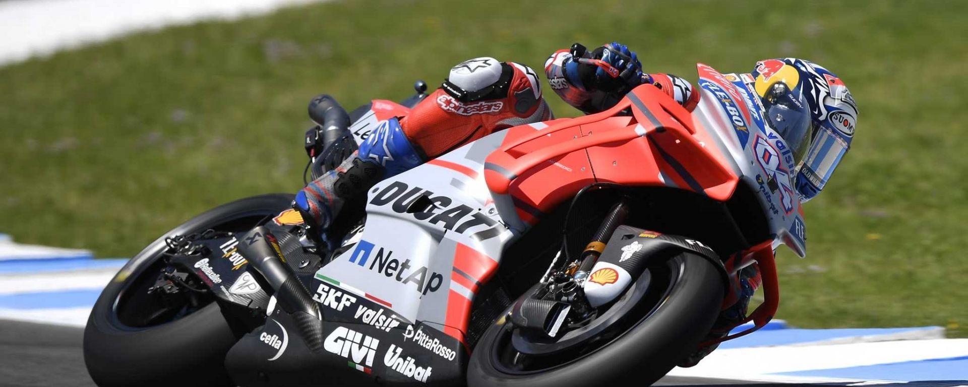 MotoGP 2018: Andrea Dovizioso in Ducati per altri due anni