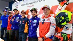 MotoGP 2018, GP Germania, Conferenza stampa: Marquez, Rossi, Dovizioso, Vinales, Miller, Rins