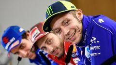 MotoGP 2018, GP Germania, Conferenza stampa: Rossi, Dovizioso, Rins