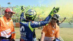 MotoGP 2018, GP Olanda, Rossi saluta i suoi tifosi