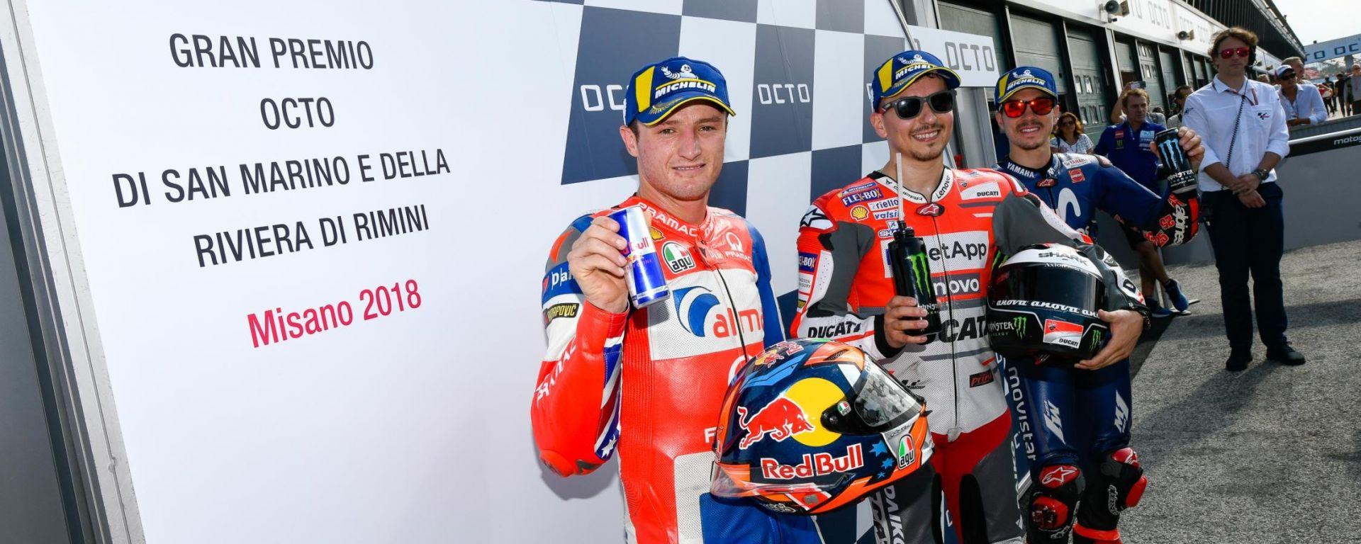 """GP San Marino: Lorenzo dopo la pole: """"Magari ho sbagliato a lasciare la Ducati"""""""