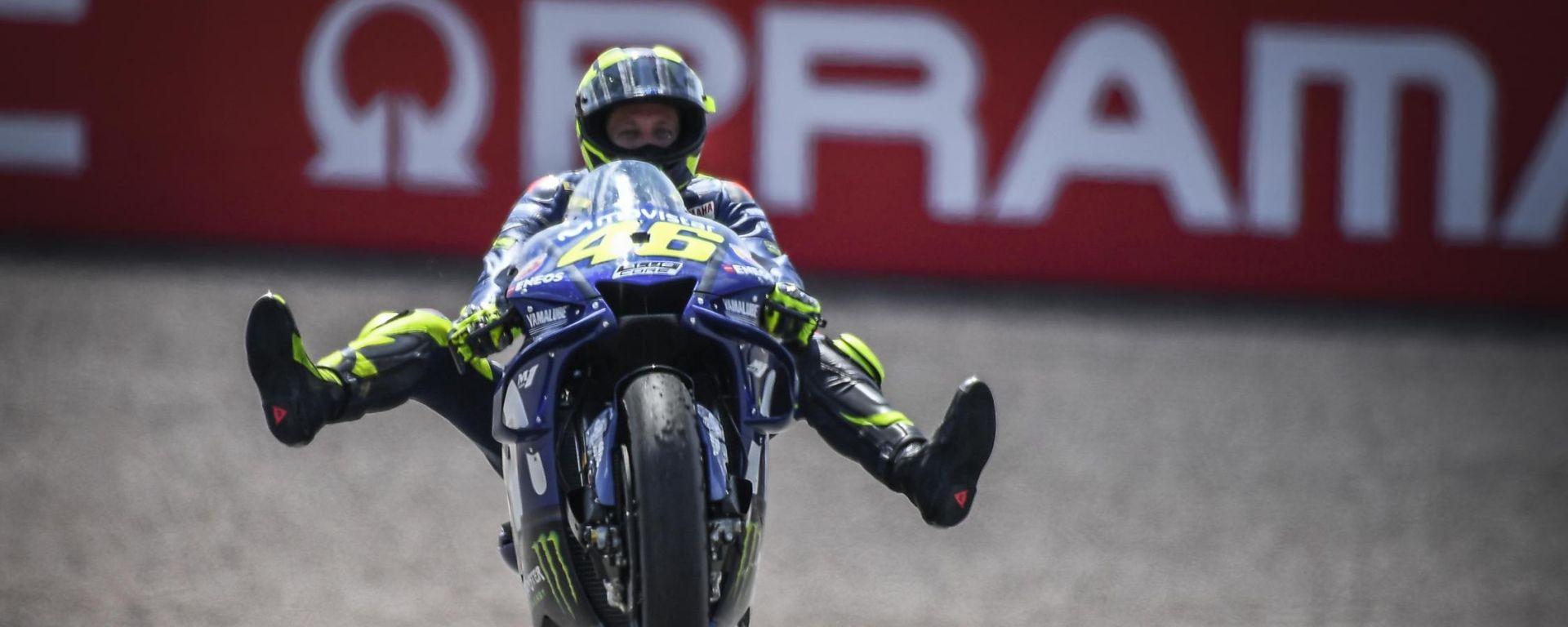 Rossi mette nel mirino il podio del Red Bull Ring