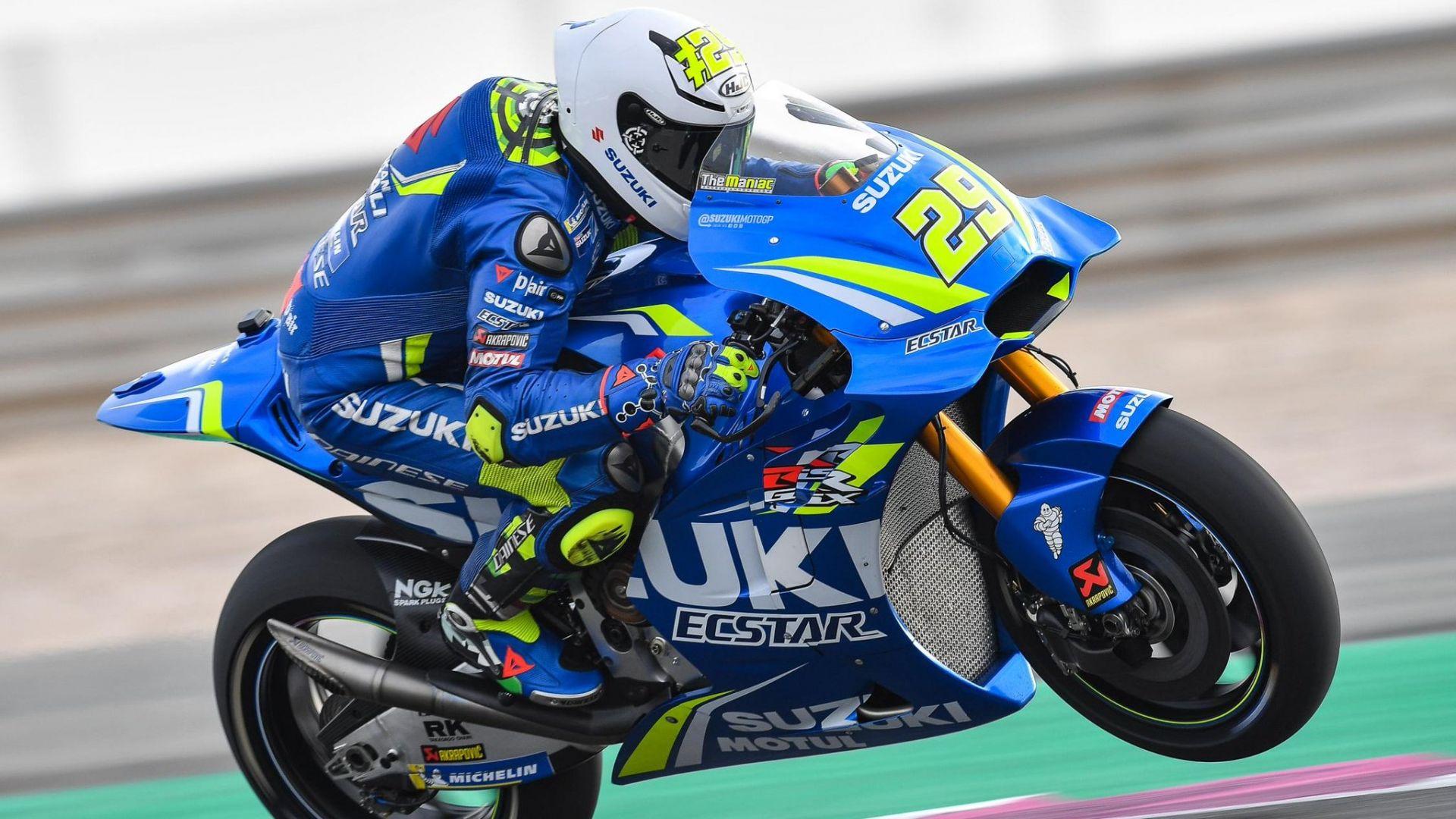 MotoGP 2018, Test Qatar, Day 2: miglior tempo di Andrea Iannone con la Suzuki - MotorBox