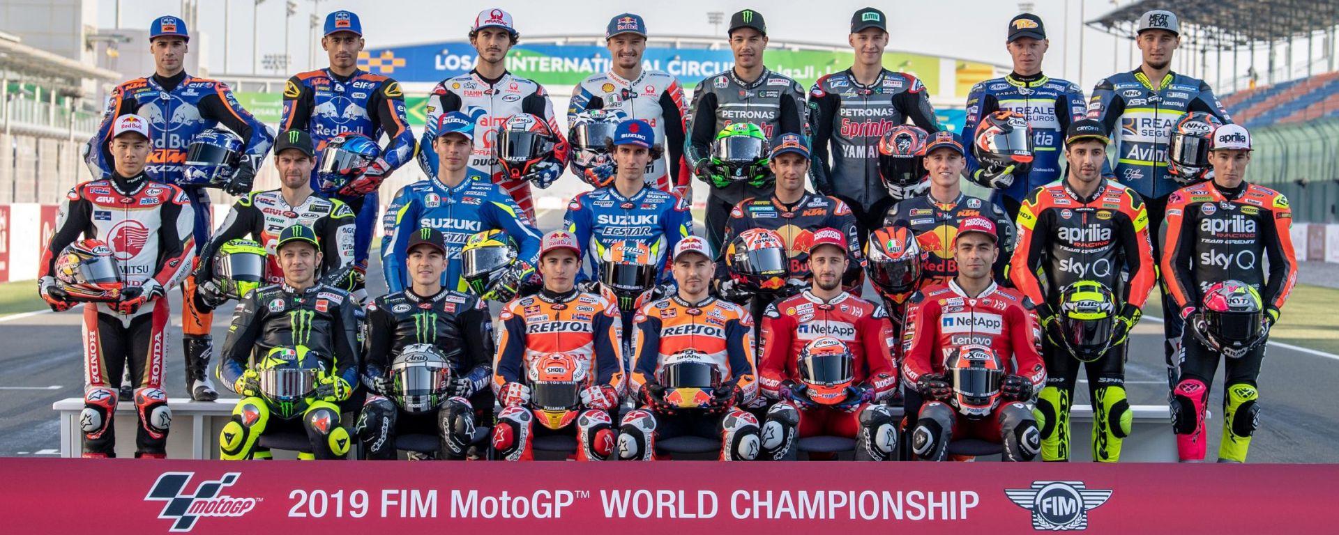 MotoGP 2019: classifica piloti e team