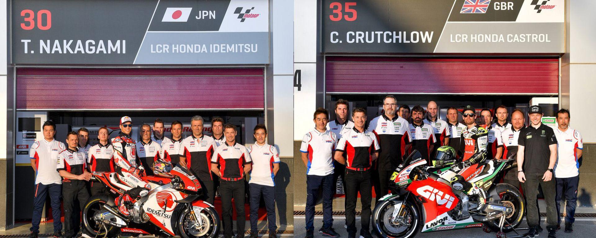 MotoGP 2019, LCR Honda
