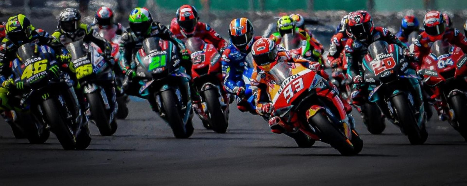 MotoGP 2019 Partenza