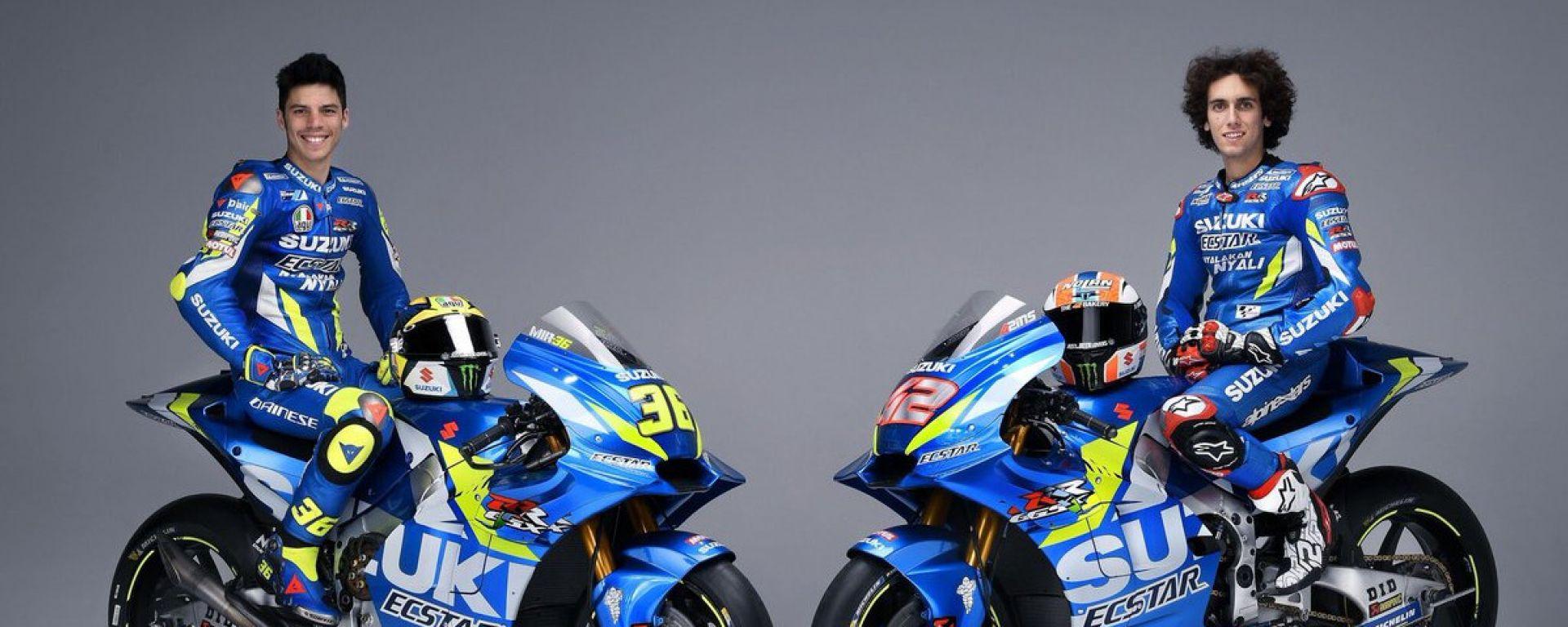 MotoGP 2019, presentata la Suzuki. Video, gallery e dichiarazioni