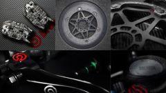 MotoGP 2020 Brembo braking system components