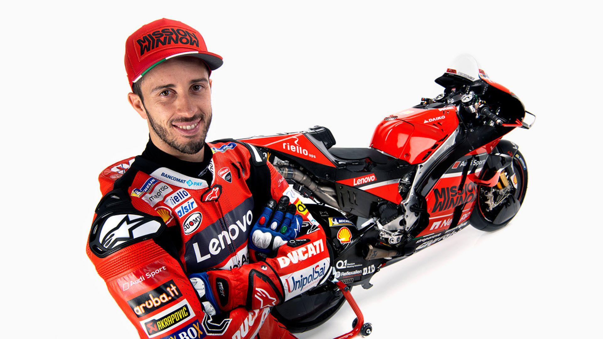 MotoGP 2020, Andrea Dovizioso - Ducati Team - MotorBox