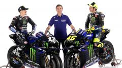MotoGP 2020, Monster Energy Factory Yamaha , Yamaha YZR-M1: Maverick Vinales, Lin Jarvis e Valentino Rossi