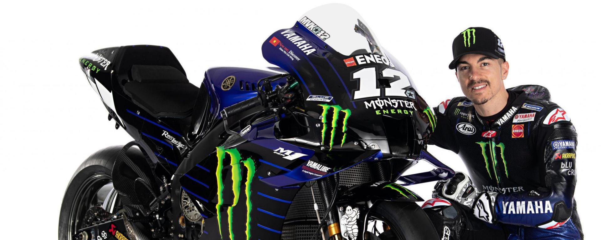 MotoGP 2020, Monster Energy Factory Yamaha , Yamaha YZR-M1: Maverick Vinales
