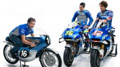 MotoGP 2020, Suzuki Ecstar Team, Suzuki GSX-RR: Joan Mir, Davide Brivio e Alex Rins